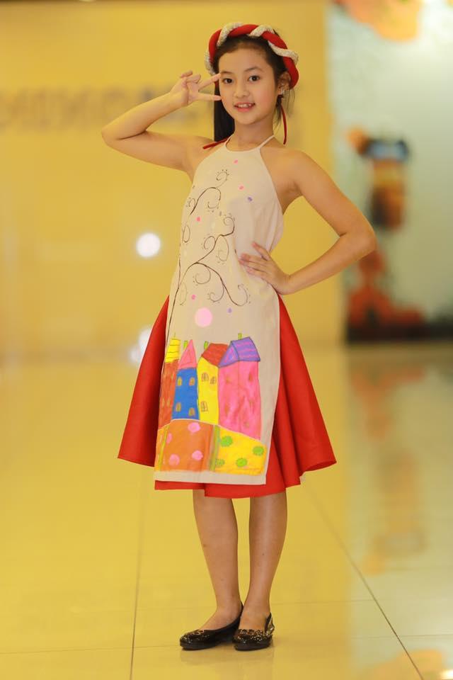 Áo dài Tấm Cám cho trẻ em Phương Nguyễn Silk